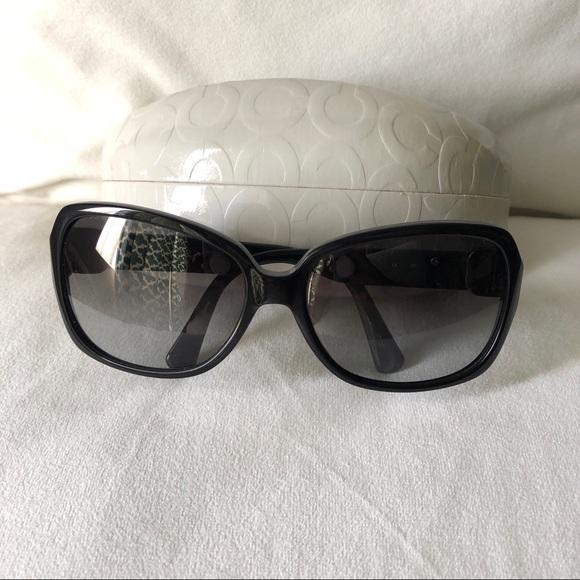 ba6bc0c04a5b Coach Accessories | Oversized Black Sunglasses Kit S8013 | Poshmark